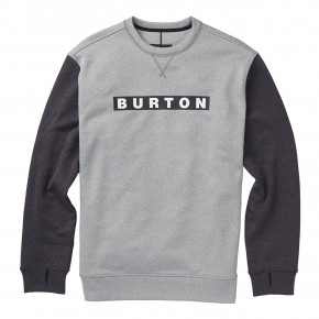 Prejsť na produkt Burton Oak Crew monument heather/true black heat 2018/2019