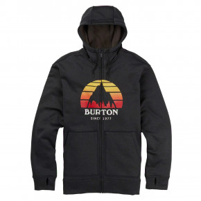 Go to the product Tech Hoodie Burton Oak Fz Hoodie sunset true black heather 2019/2020