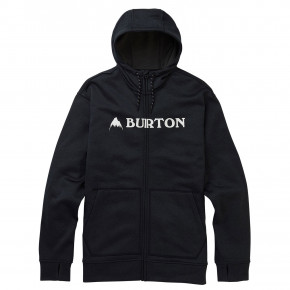 Go to the product Tech Hoodie Burton Oak Fz Hoodie true black heather 2019