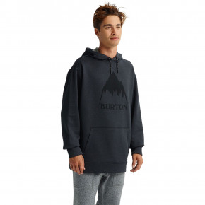 Go to the product Burton Oak Pullover Hoodie true black heather 2019