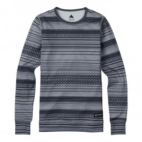 Go to the product Top Burton Wms Midweight Crew grey revel 2019/2020