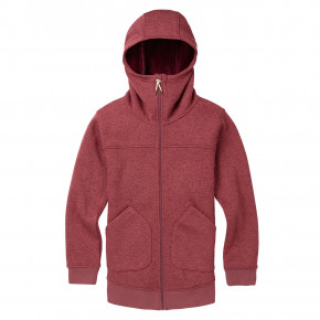 Go to the product Tech Hoodie Burton Wms Minxy Fz rose brown heather 2018/2019