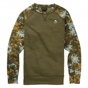 Go to the product Tech Hoodie Burton Wms Oak Crew keef heather/wheeler camo 2019/2020