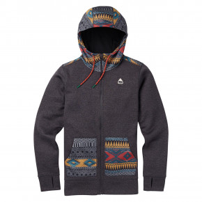 Go to the product Tech Hoodie Burton Wms Oak FZ true black heather/tahoe freya w 2018/2019