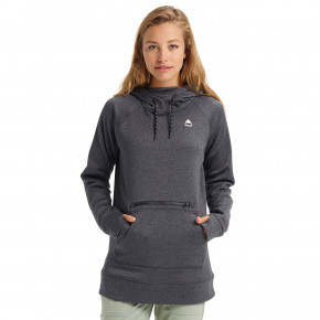 Go to the product Tech Hoodie Burton Wms Oak Long Pullover Hoodie phantom heather 2019