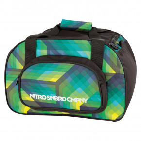 Go to the product Travel bag Nitro Duffle Xs geo green 2019