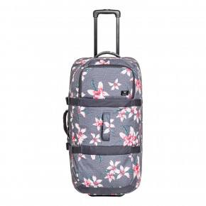 Go to the product Travel bag Roxy Long Haul 2 charcoal heather flower field 2018