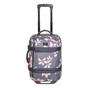 Go to the product Travel bag Roxy Wheelie 2 charcoal heather flower field 2018