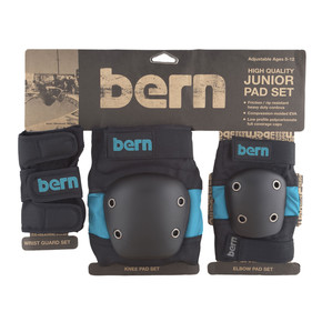 Go to the product Protective gear Bern Junior Pad Set blue on black 2017