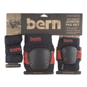 Go to the product Protective gear Bern Junior Pad Set red on black 2017