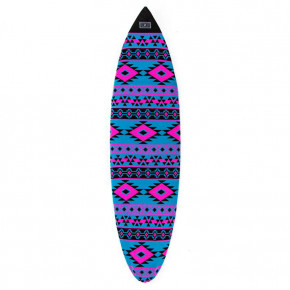 Go to the product Creatures Shortboard Aztec Sox cyan magenta 2020