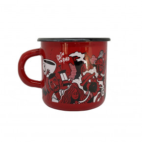 Go to the product Cup Cult Of The Road Rebel Mug red