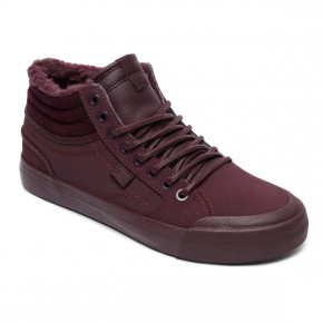 Go to the product Sneakers DC Evan Hi Wnt maroon 2017