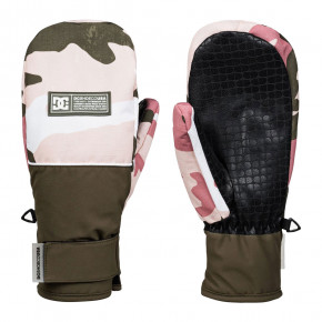 Go to the product Gloves DC Franchise Wmn Mitt dusty rose wmn vintage camo 2019/2020