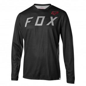 Go to the product Jersey Fox Indicator Ls heather black 2017