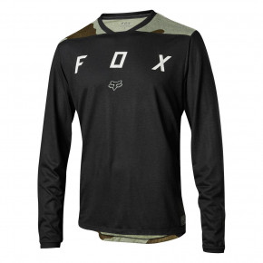 Go to the product Jersey Fox Indicator LS Mash Camo Jersey black 2018