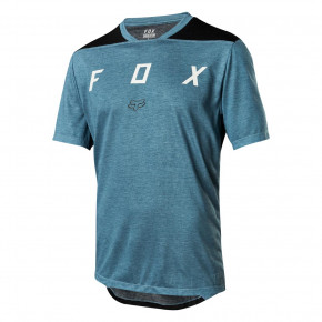 Go to the product Jersey Fox Indicator SS Mash Camo Jersey slate blue 2018