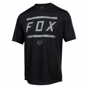 Go to the product Jersey Fox Ranger SS Bars Jersey black 2018