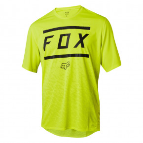 Go to the product Jersey Fox Ranger SS Bars Jersey yellow/black 2018