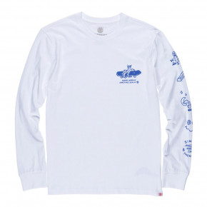 Przejść do produktu Koszulka Element Wheelin L/s optic white 2018