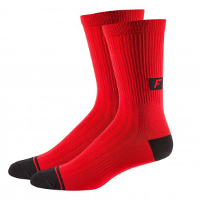 "Go to the product Bike socks Fox 8"" Trail cardinal 2019"