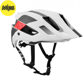 Go to the product Helmet Fox Flux Mips Conduit white/black 2019