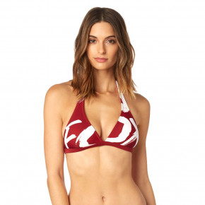Go to the product Bikiny Fox Rodka Fixed Halter Top dark red 2018