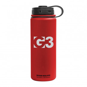 Go to the product Thermos and Bottles G3 Insulated Bottle red 0,53l 2018/2019