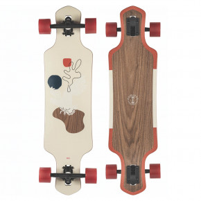 Go to the product Longboard Globe Geminon walnut/cockatoo 2020