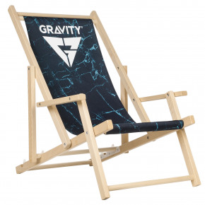 Go to the product Deck chair Gravity Blue Marble