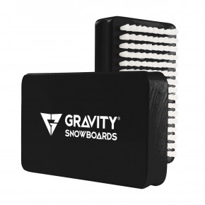 Go to the product Gravity Wax Brush black/white 2019/2020