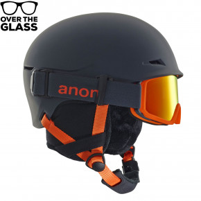 Go to the product Helmet Anon Define grey 2018/2019