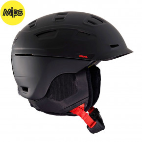 Go to the product Helmet Anon Prime Mips black pop 2019/2020