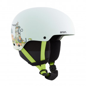 Go to the product Helmet Anon Rime 3 bot blue 2020/2021