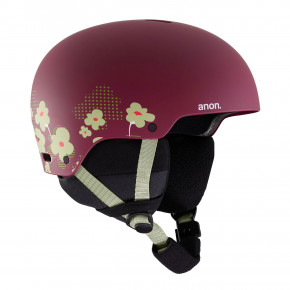 Go to the product Helmet Anon Rime 3 flower maroon 2019/2020