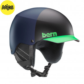 Go to the product Helmet Bern Baker Mips matte blue hatstyle 2020/2021