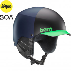 Go to the product Helmet Bern Baker Mips matte blue hatstyle 2019/2020