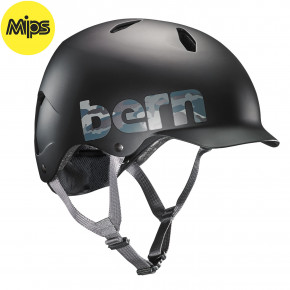 Go to the product Helmet Bern Bandito Mips matte black camo logo 2019