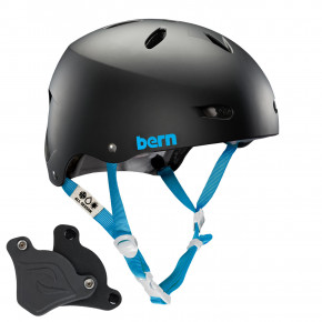 Go to the product Helmet Bern Brighton H2O matte black 2019