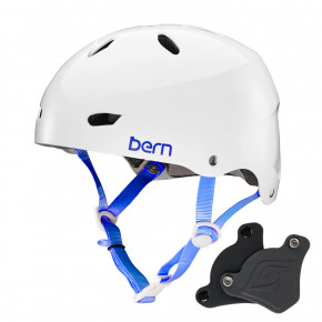 Go to the product Helmet Bern Brighton H2O Wep gloss white 2018