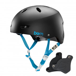 Go to the product Helmet Bern Brighton H2O Wep matte black 2018