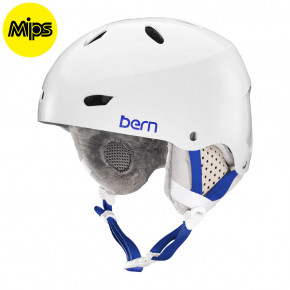 Go to the product Helmet Bern Brighton MIPS gloss white 2017/2018