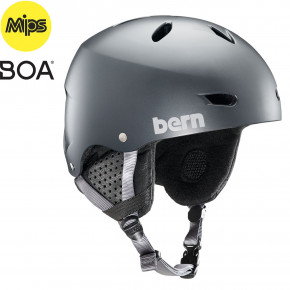 Go to the product Helmet Bern Brighton Mips satin metallic storm 2019/2020