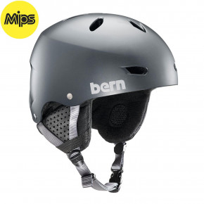 Go to the product Helmet Bern Brighton Mips satin metallic storm 2018/2019