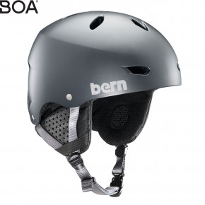 Go to the product Helmet Bern Brighton satin metallic storm 2019/2020