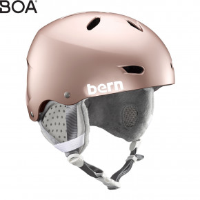 Go to the product Helmet Bern Brighton satin rose gold 2019/2020