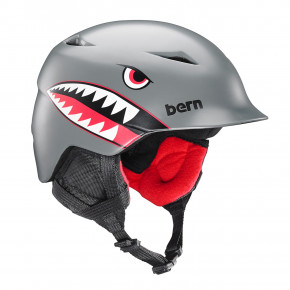 Przejść do produktu Kask Bern Camino satin grey flying tiger 2018/2019