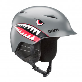Przejść do produktu Kask Bern Camino satin grey flying tiger 2020/2021