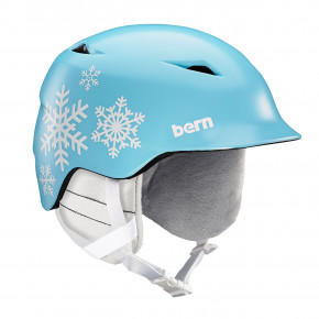 Go to the product Helmet Bern Camino satin light blue snowflake 2020/2021
