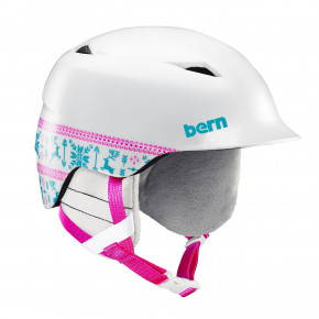 Go to the product Helmet Bern Camino satin white fair isle 2019/2020